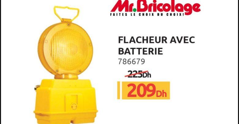 Photo of Promo Mr Bricolage Maroc Flasheur avec batterie 209Dhs au lieu de 225Dhs
