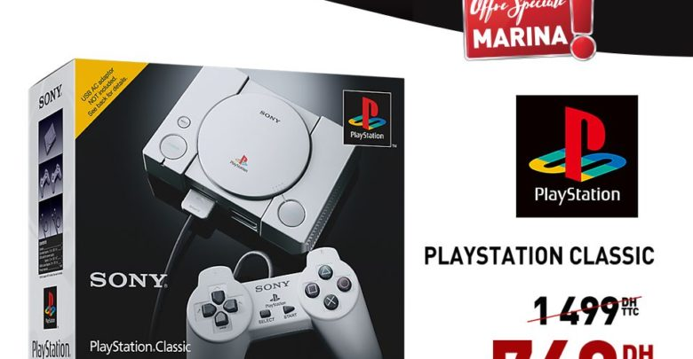 Photo of Promo Electroplanet SONY PlayStation Classic 749Dhs au lieu de 1499Dhs