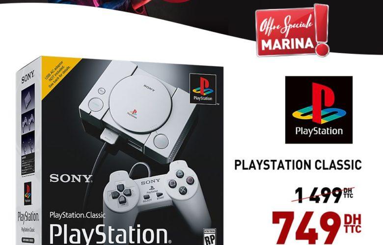 Promo Electroplanet SONY PlayStation Classic 749Dhs au lieu de 1499Dhs