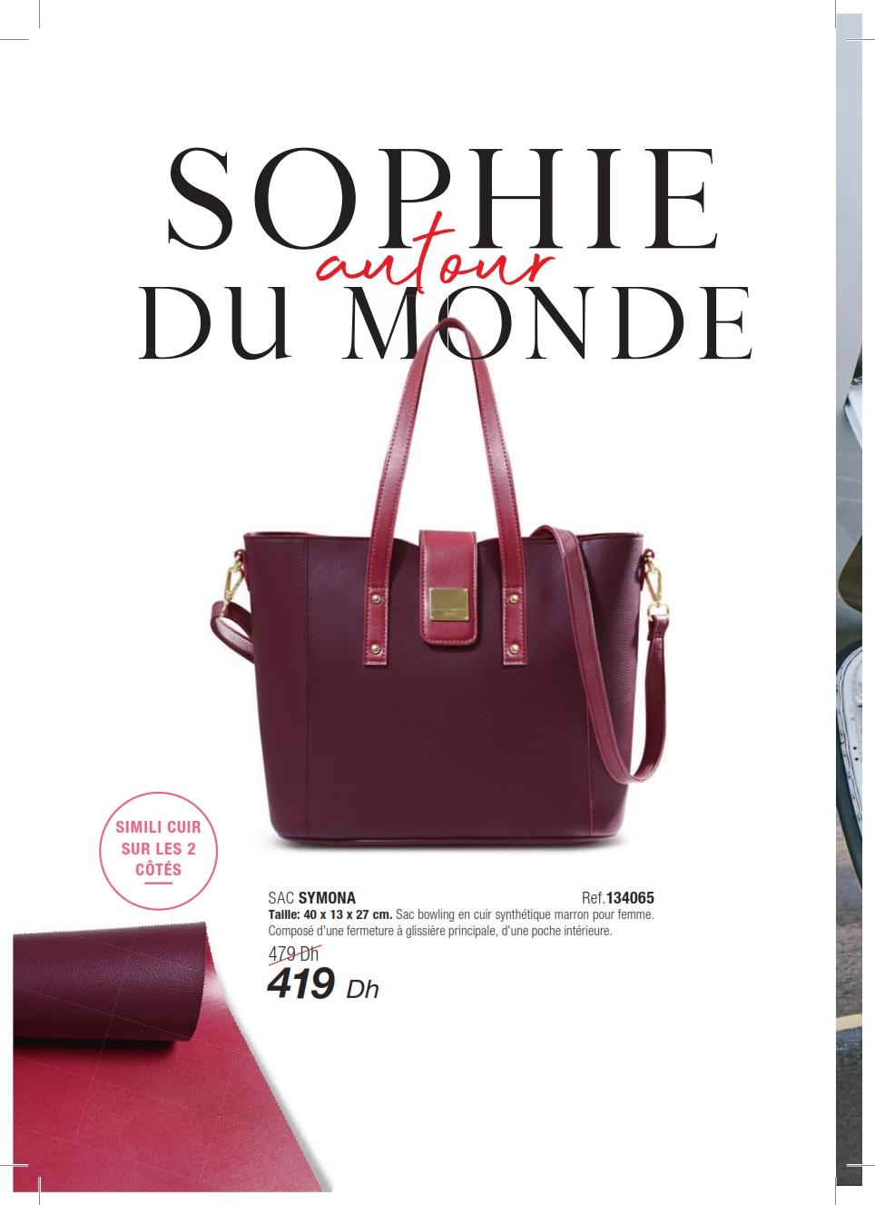 Catalogue Sophie Paris Maroc Avril 2019