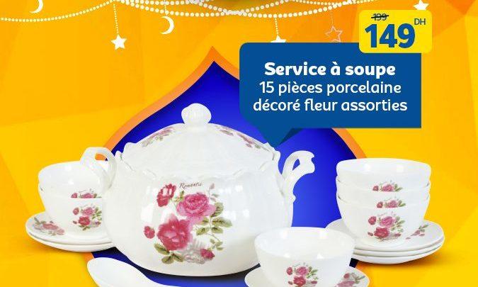 Photo of Promo Spéciale Ramadan 2019 chez Marjane Service Soupe à partir de 99Dhs