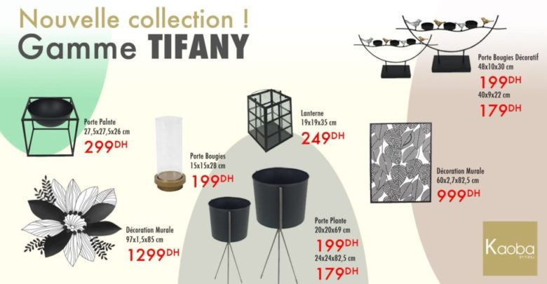 Photo of Nouvelle collection Gamme TIFANY chez Kaoba Ameublement