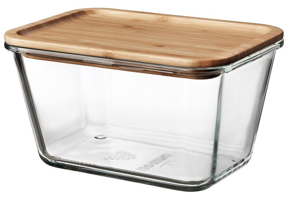 Soldes Ikea Maroc Boîte de conservation avec couvercle 104Dhs au lieu de 119Dhs