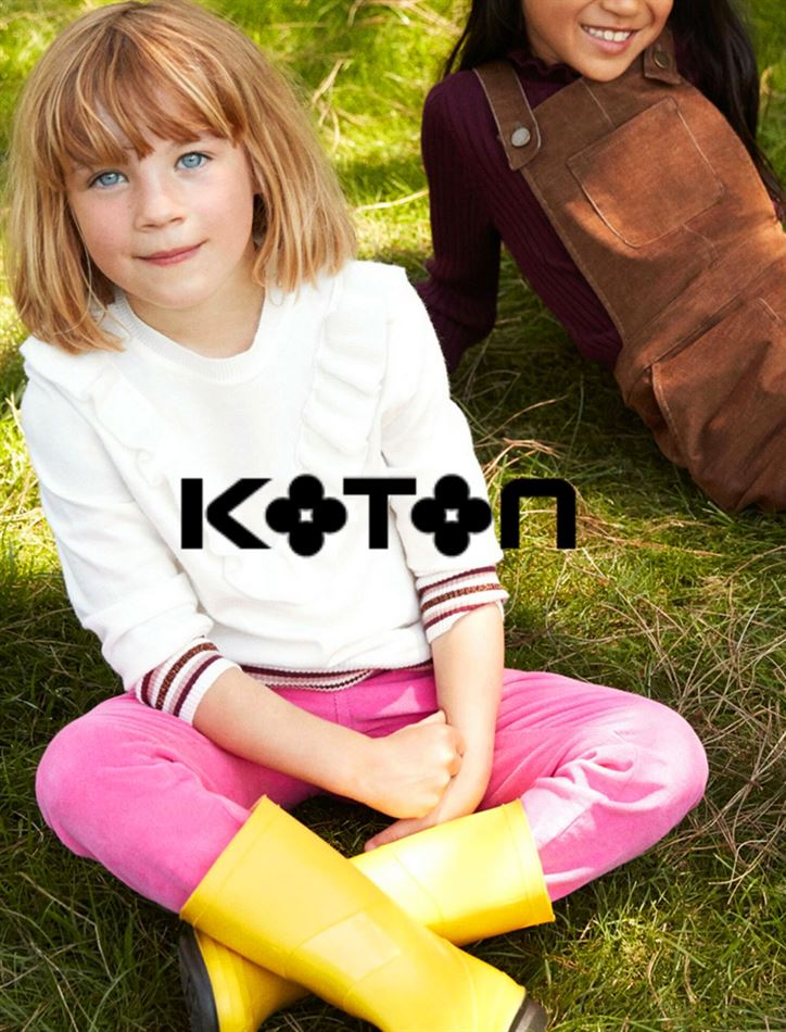 Lookbook Koton Maroc Kid's Collection Jusqu'au 11 Juin 2019