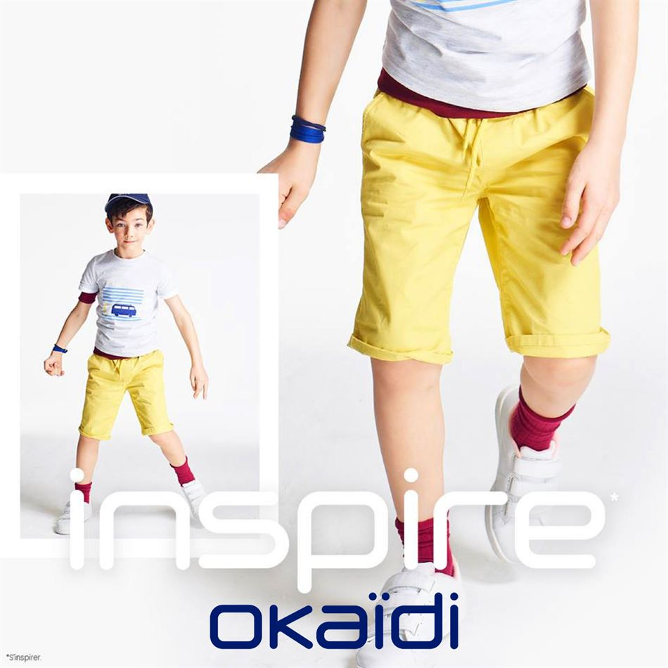 Lookbook Okaidi Maroc Inspire Collection du 16 mai au 15 Juillet 2019