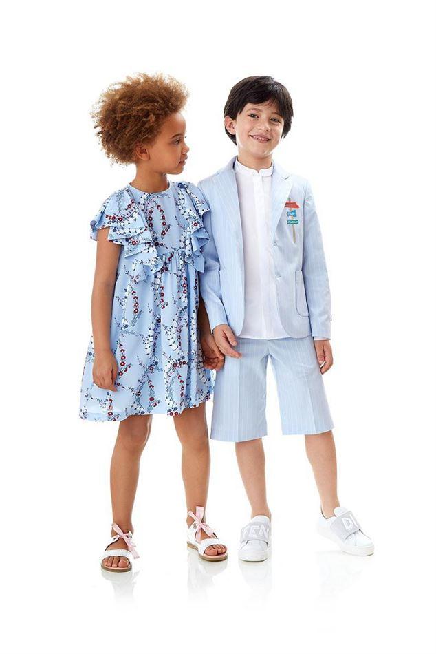 Lookbook FENDI Maroc Kids Collection du 21 Mai au 11 Juin 2019
