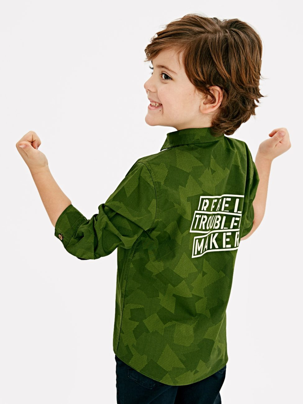 Soldes Lc Waikiki Maroc Chemise pour enfant 99Dhs au lieu de 129Dhs