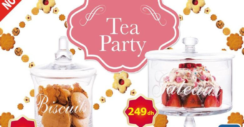 Photo of Nouveau et beau chez Alpha55 Tea Party Spéciale Bonbonnières en verre