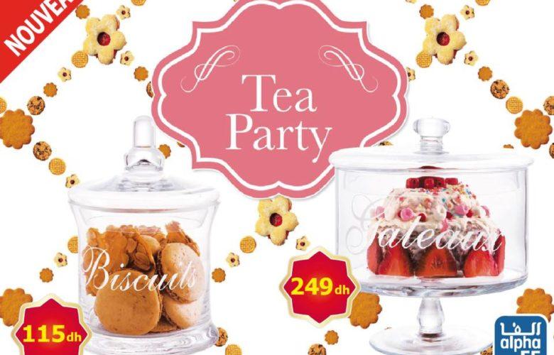 Nouveau et beau chez Alpha55 Tea Party Spéciale Bonbonnières en verre