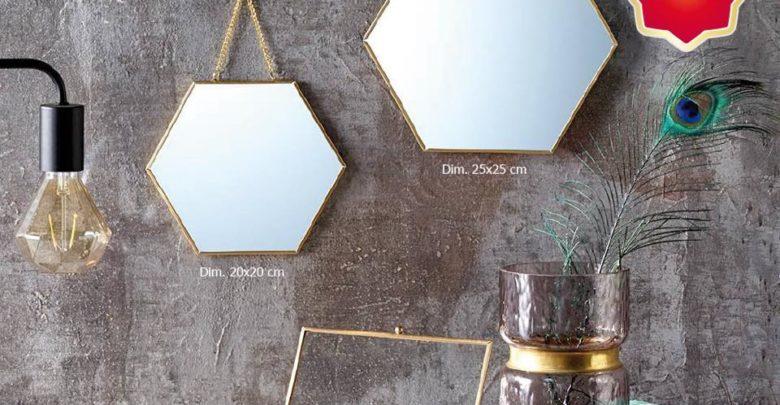 Promo Alpha55 Sélection de Miroirs décoratifs carrés ronds ou rectangulaires