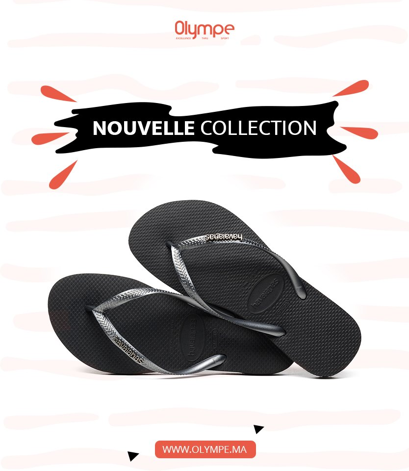 Nouvelle Collection HAVAIANAS chez Olympe Store