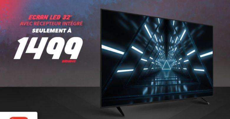 Photo of Offre Spéciale chez Abroun Electro TV Led 32° récepteur intégré à partir de 1499Dhs