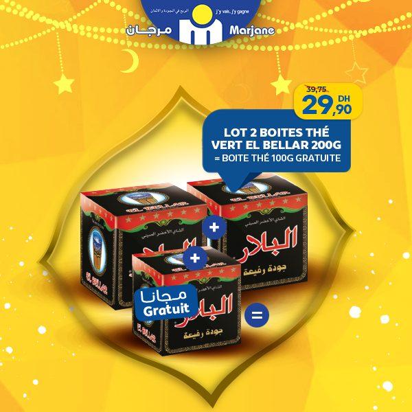 Promo Ramadan 2019 Marjane Spéciale offre de Thé