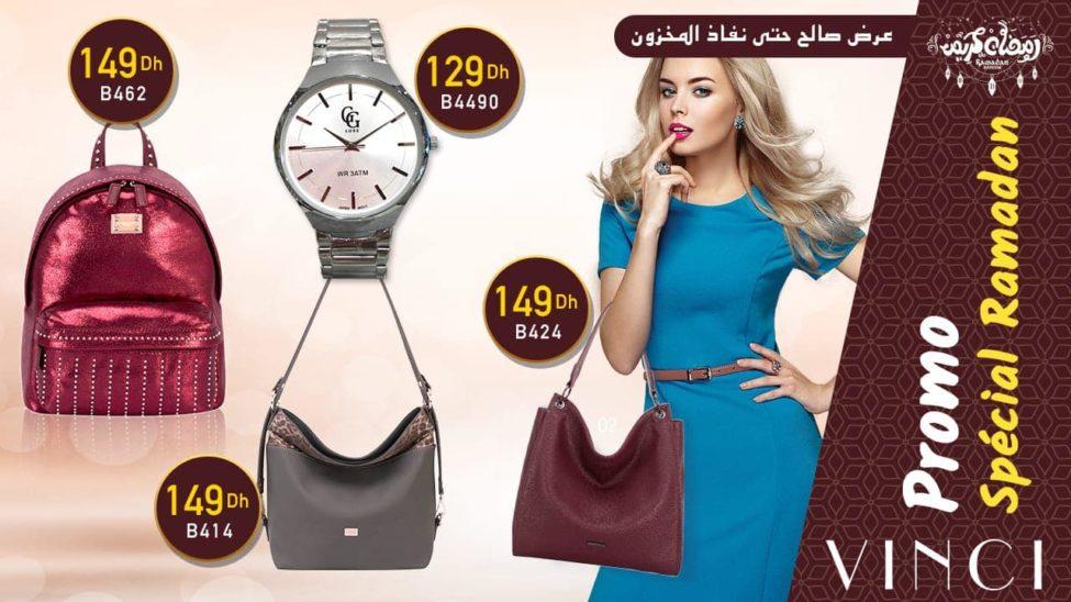 Promo Spéciale Ramadan chez Vinci Maroc Jusqu'au épuisement du stock