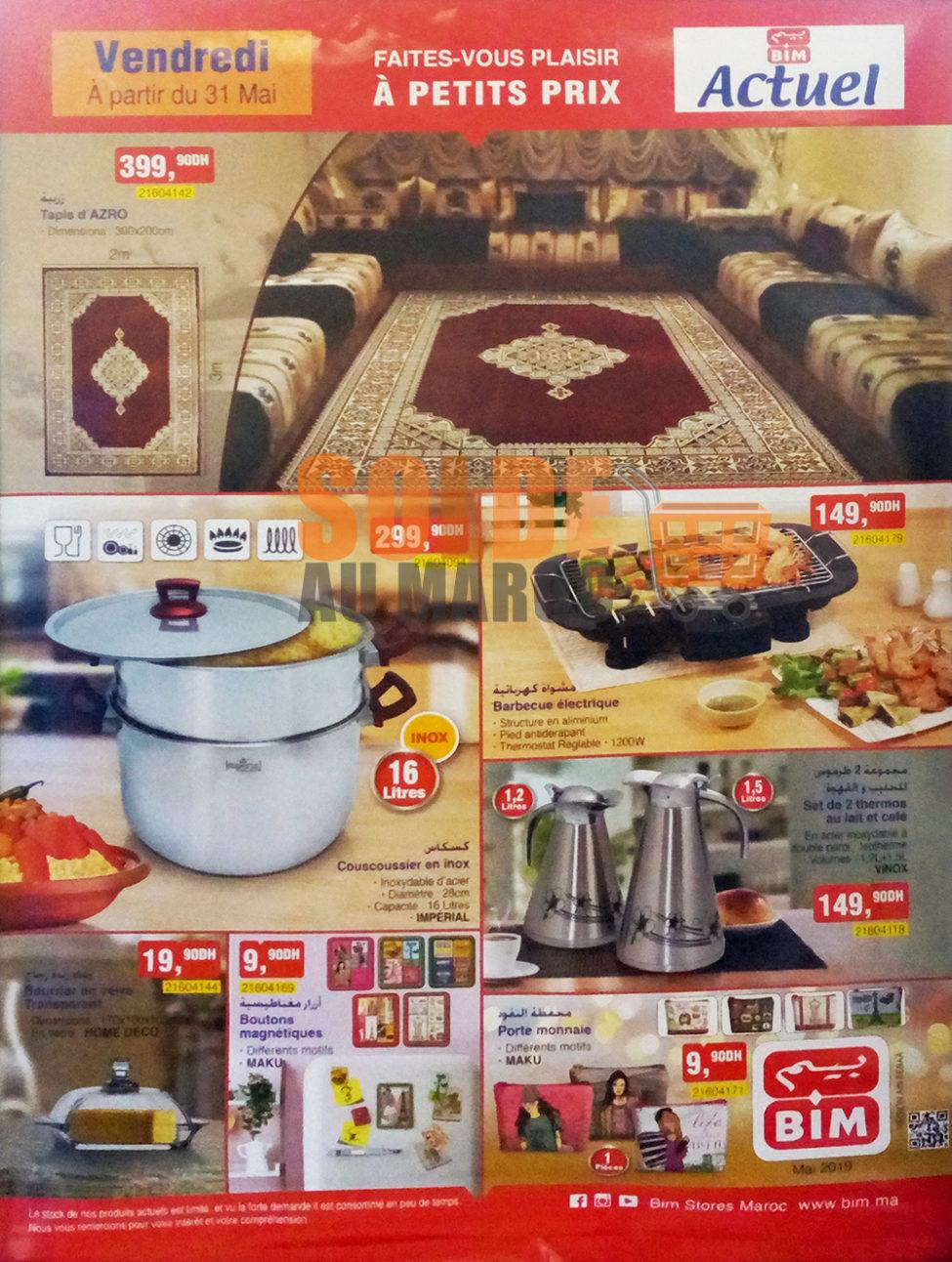 Catalogue Bim Région Ain Sebâa du Vendredi 31 Mai 2019