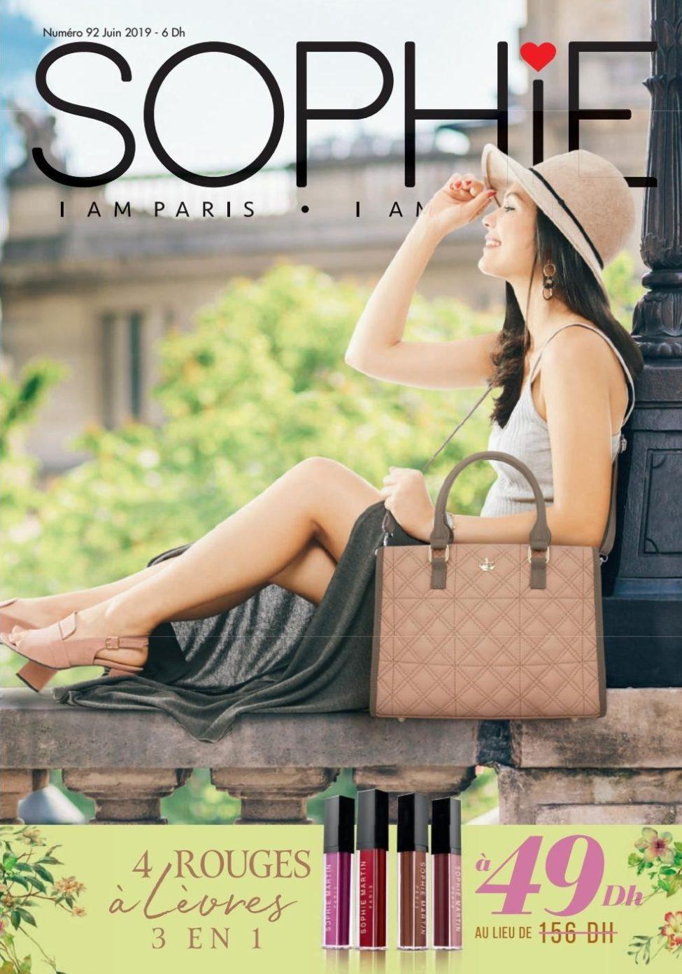Catalogue Sophie Paris Maroc Numéro 92 Juin 2019