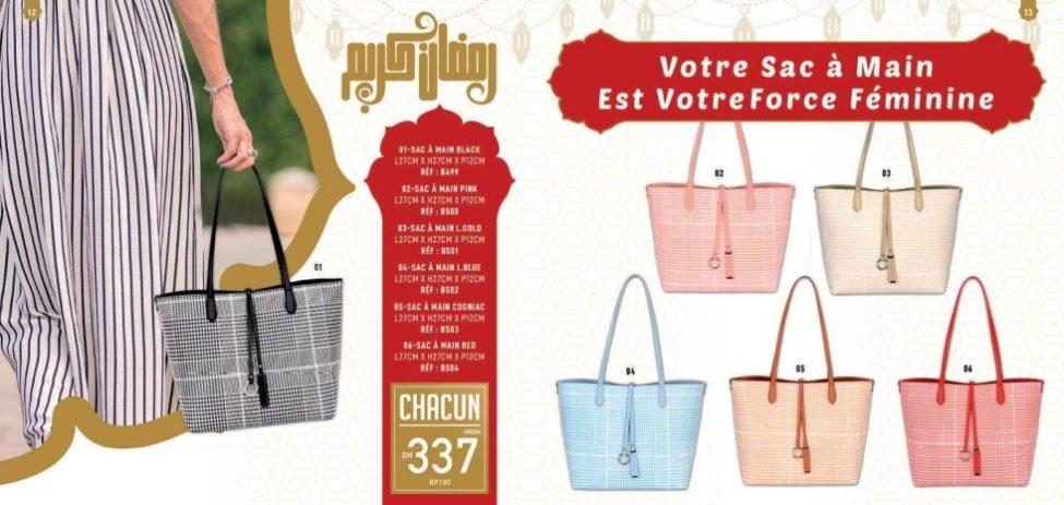 Catalogue Vinci Accessoires Maroc Accessoires Chics & Prix Chocs Mai 2019
