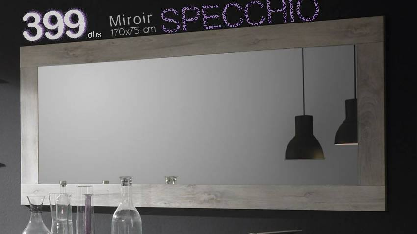 Soldes Azura Home MIROIR SPECCHIO 105 CM 399Dhs au lieu de 598Dhs