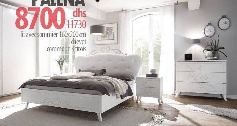 Photo of Soldes Azura Home Chambre complète PALENA 8700Dhs au lieu de 11730Dhs