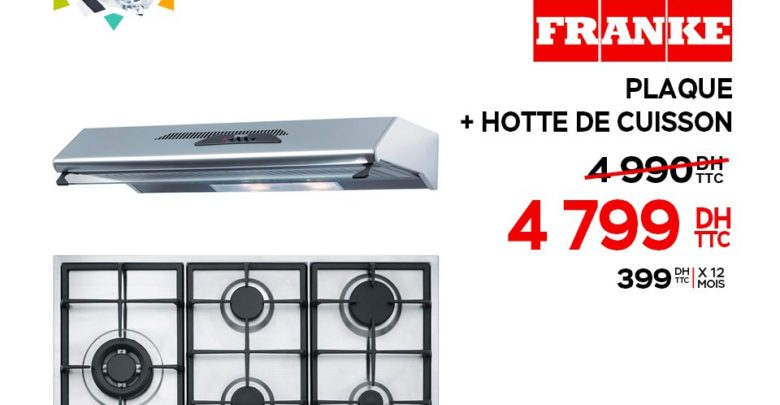 Photo of Promo Electroplanet Plaque + Hotte de Cuisson 4799Dhs au lieu de 4990Dhs