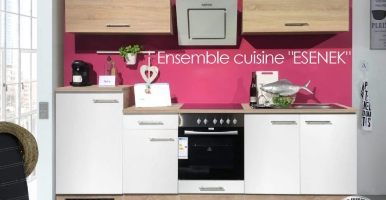 Photo of Promo Azura Home ENSEMBLE MEUBLE CUISINE ESNEK 270CM 3990Dhs au lieu de 7990Dhs