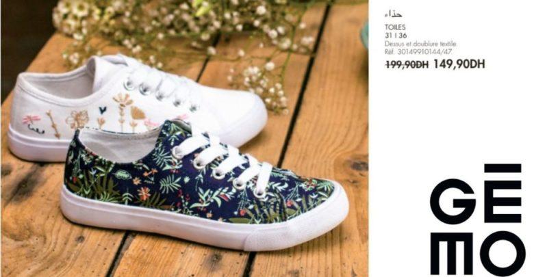 Photo of Promo Gémo Maroc Chaussure TOILES 149Dhs au lieu de 199Dhs