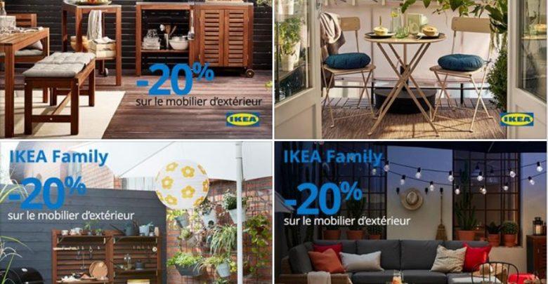 Photo of Offres Membres Ikea Family -20% sur le mobilier d'extérieur