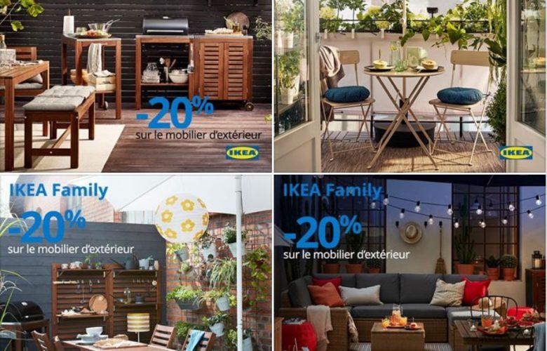 Offres Membres Ikea Family -20% sur le mobilier d'extérieur