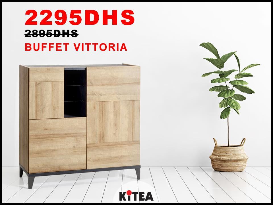 Promo Kitea Buffet VITTORIA 2295Dhs au lieu de 2895Dhs