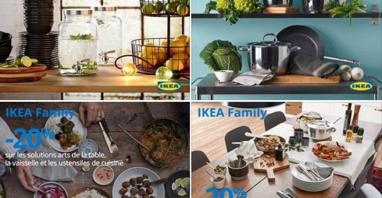 Photo of Promo IKEA Family -20% sur les solutions arts de table vaisselle et ustensiles du 15 au 26 Mai 2019
