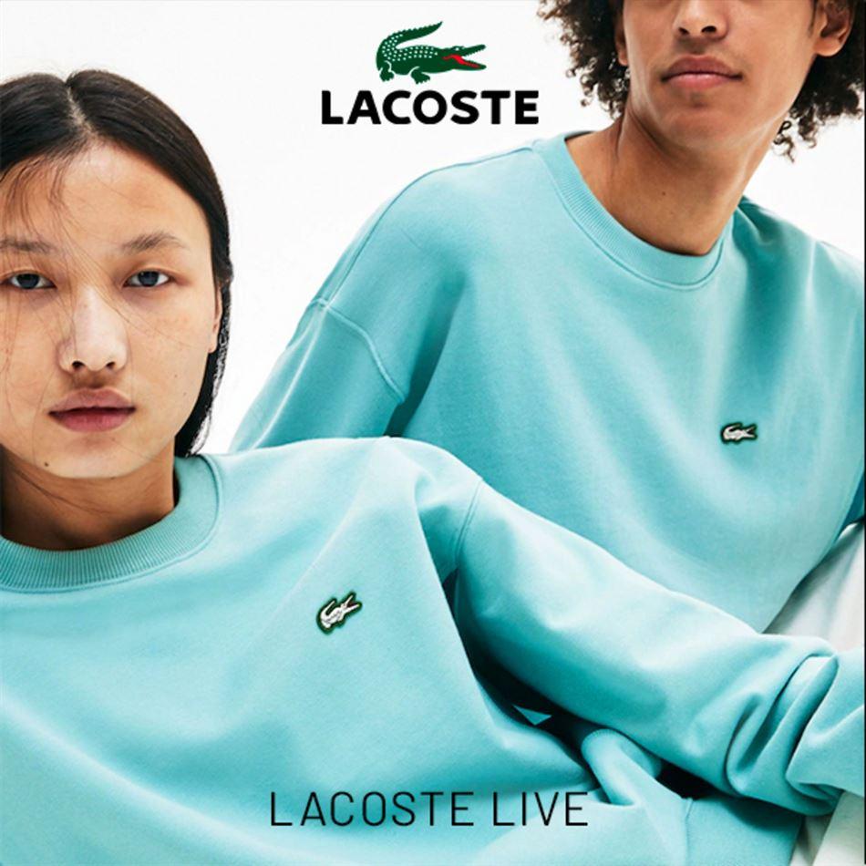 Lookbook Lacoste Live du 20 Juin au 31 Juillet 2019