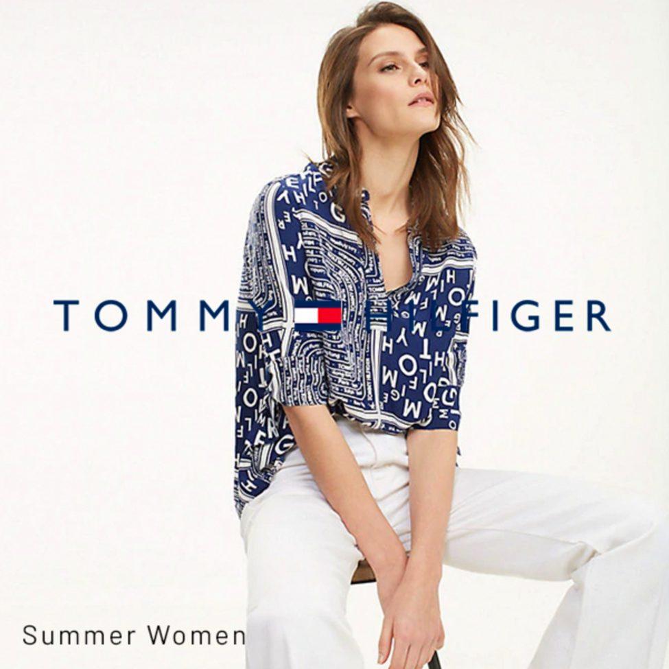 Lookbook Tommy Hilfiger Summer Woman du 26 Juin au 7 Août 2019