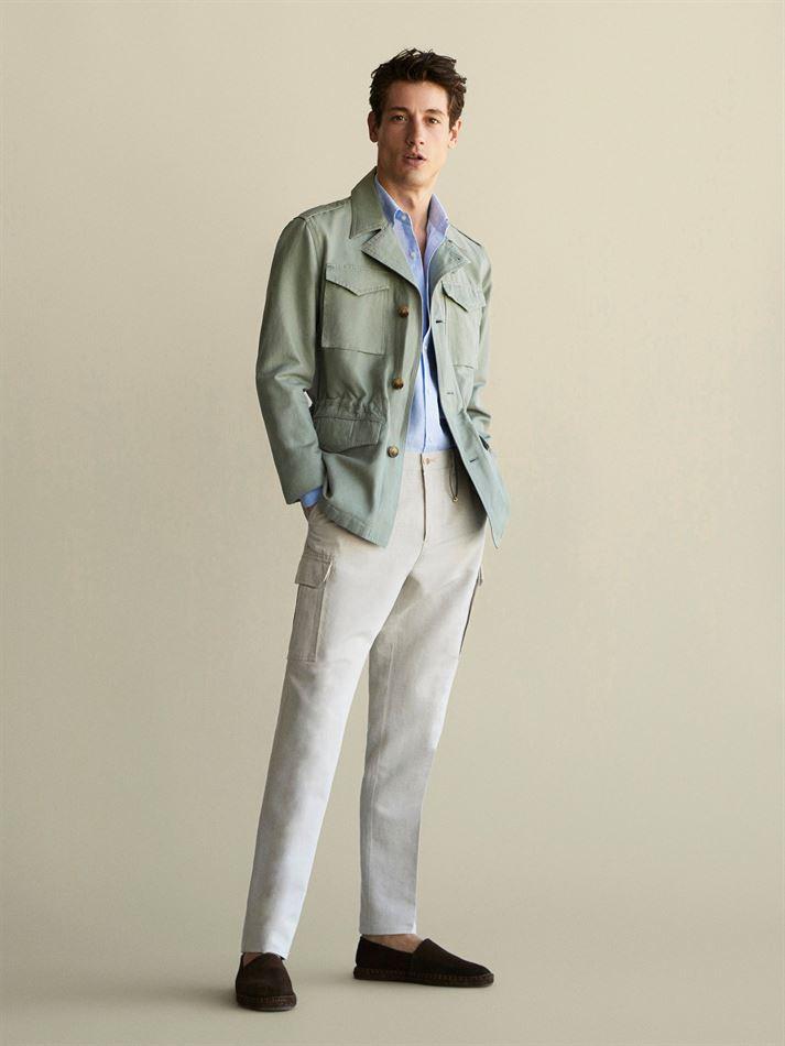 Lookbook Massimo Dutti Collection Lin Homme du 4 Juin au 5 Août 2019