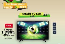 Promo Tangerois Electro Smart TV TCL 32° HD TNT SAT 1799Dhs au lieu de 1999Dhs
