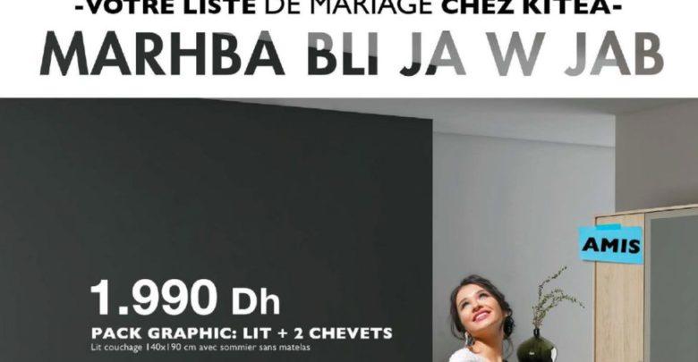 Photo of Catalogue Kitea Nouvelle Collection été 2019/2020 Spéciale Mariage