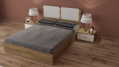 Promo Yatout Home Pack ROYAL Lit + 2 Chevets + Commode avec miroir 4990Dhs au lieu de 6990 Dhs