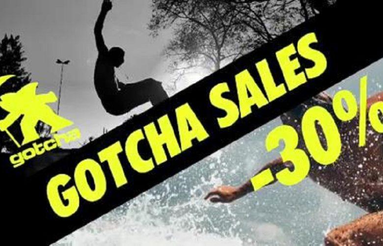 Soldes d'été commence chez Gotcha Maroc Jusqu'à -30%
