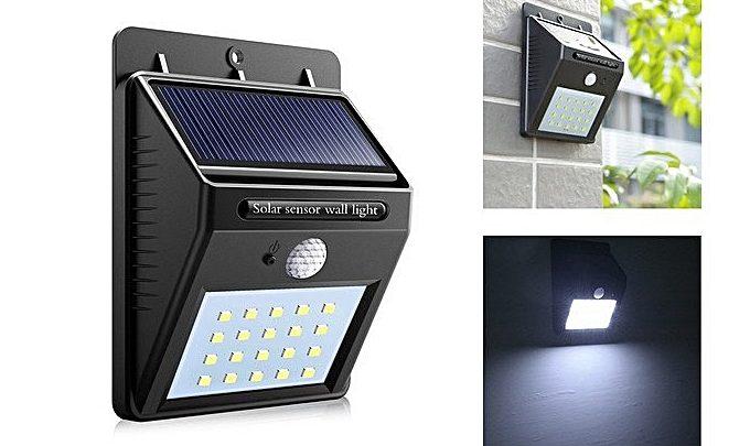 Photo of Offre Jumia LED solaire avec détecteur de mouvement Solar 89Dhs au lieu de 199Dhs