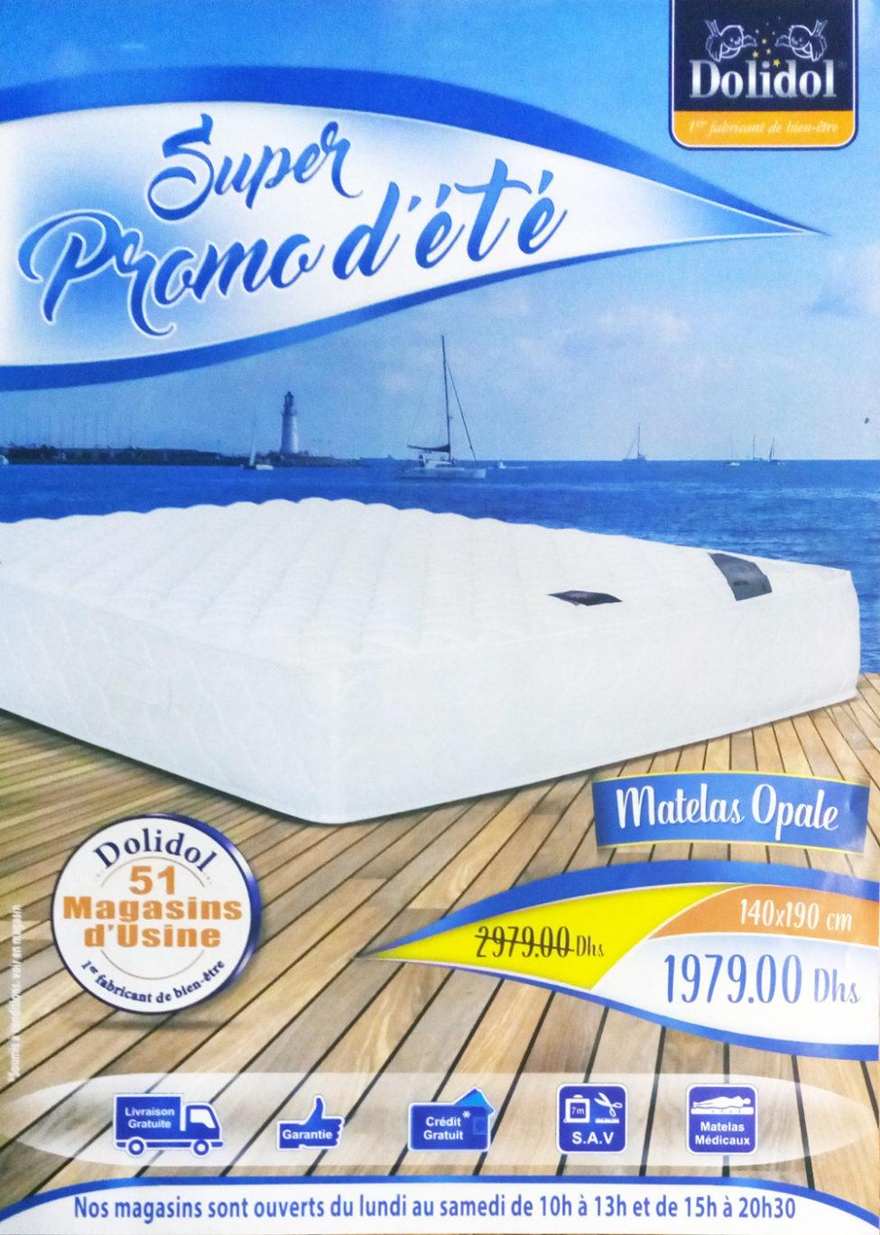 Flyer Dolidol Super Promo d'été du 12 Juin au 12 Août 2019