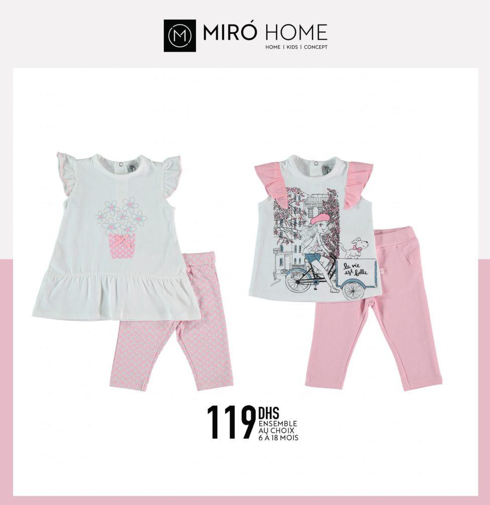 Nouvelle collection d'été chez Miro Home Vêtements des enfants