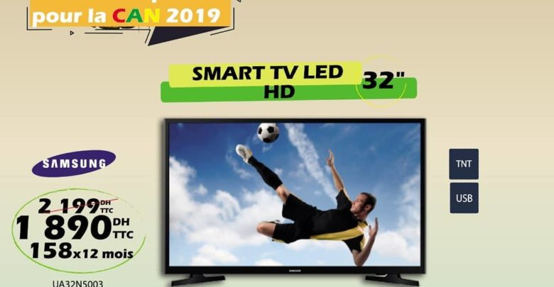 Photo of Promo Tangerois Electro Smart TV 32° HD SAMSUNG 1890Dhs au lieu de 2199Dhs