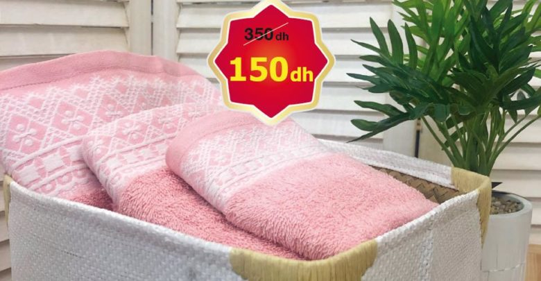 Photo of Promo Alpha55 Pack de 3 Serviettes 150Dhs au lieu de 350Dhs