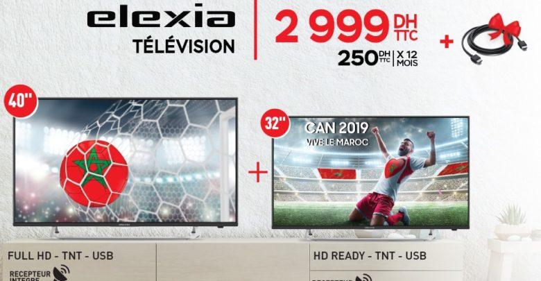 Photo of Promo Spéciale Electroplanet 2 TV LED HD avec récepteur intégré ELEXIA 2999Dhs