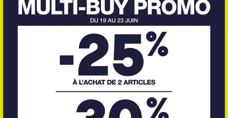 Photo of Offre Multi-buy Gap Maroc -25% et-30% à l'achat de 2 et 3 articles et plus jusqu'au 23 Juin 2019