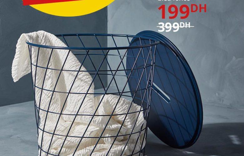 Promo Ikea Maroc Coffre-table basse 199Dhs au lieu de 399Dhs