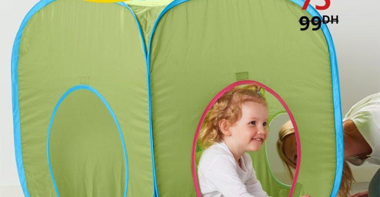 Photo of Promo Ikea Maroc Tente de jeu BUSA 75Dhs au lieu de 99Dhs