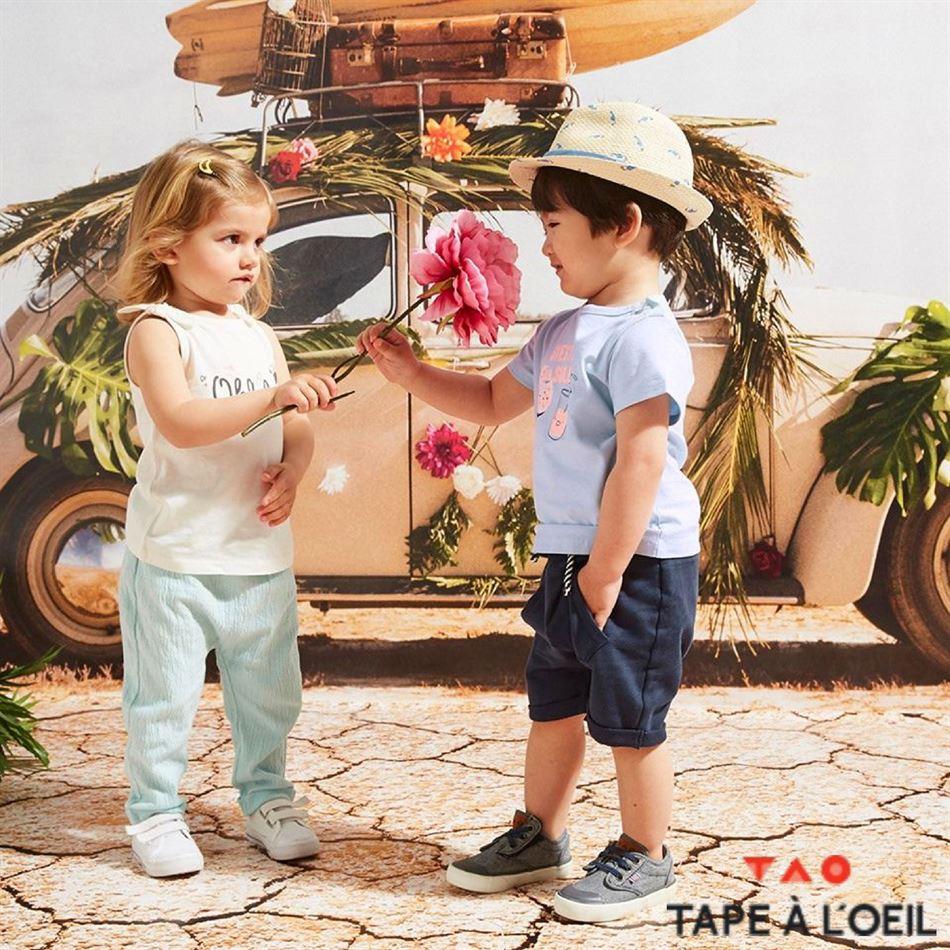 Lookbook Tape à l'œil Baby Collection du 9 Juillet au 9 Septembre 2019
