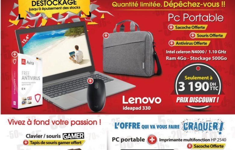 Catalogue Opération Déstockage Hcomp Microchoix Meknés Juillet 2019