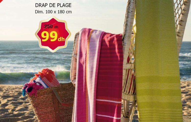 Soldes Alpha55 Collection Draps de plage à partir de 99Dhs au lieu de 250Dhs