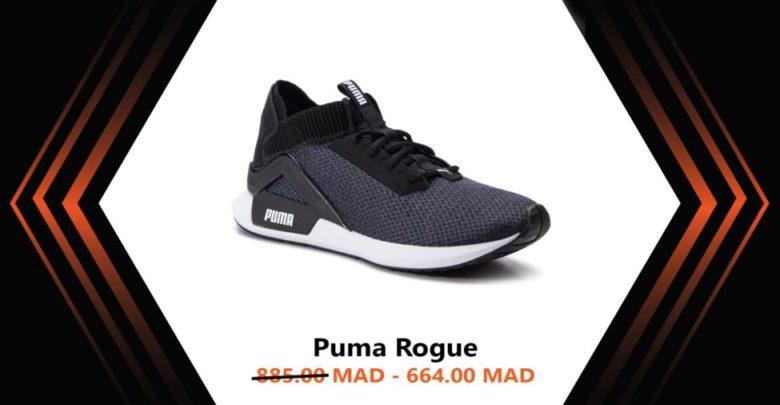 Photo of Soldes Courir Maroc Chaussure PUMA ROGUE 664Dhs au lieu de 885Dhs
